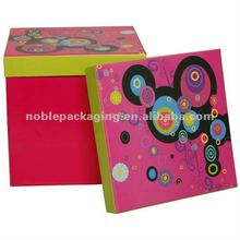 Pink Box with Crazy Design Lid