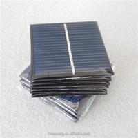 Polycrystalline 4V 50mA epoxy solar panel 0.2W for small solar systems