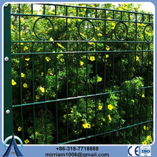 Alibaba China Supplier metal pipe security backyard metal fence