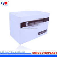 construction and corona treated plastic pp vegetable crate