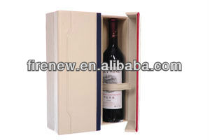 PU Leather Wine Box Set, Wine Carrier, Wine Packaging Gift Box