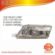 FOR NISSAN SUNNY SENTRA B14 1994-1998 HEAD LAMP R 26010-0M026 L 26060-0M026