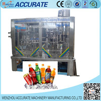 Automatic soda water making plant Filling Bottling Machines for Carbonated Drinks