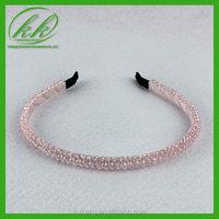 Handmade crystal hair barretter for wedding dress kk884-1