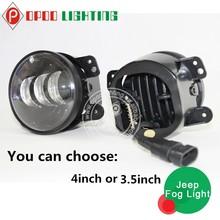 Top Quality car fog light,JEEP Wrangler 30w 4inch car fog light