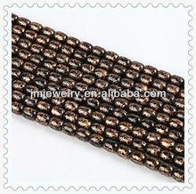 8*10 mm cheap high quality drum shape glass bead
