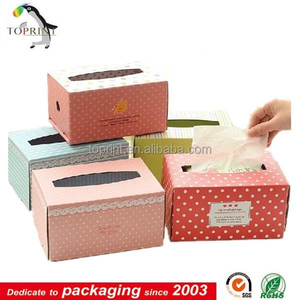 Creative Card Color Box Tissue Paper Box Design Facial ...
