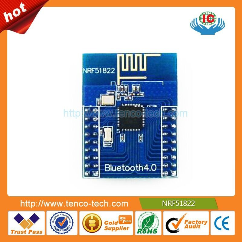 Hot sell ble4.0 development board Bluetooth module NRF51822 low power consumption