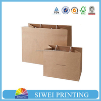 2015 China Factory Professional Custom Printed Handmade packaging paper led gift bags