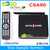android 5.1 tv box csa90 RK3368 mini pc Octa Core 16GB bt WiFi Smart TV Box CSA90