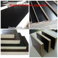 E1 glue two times press brown film faced plywood for construction and bulidng concrete