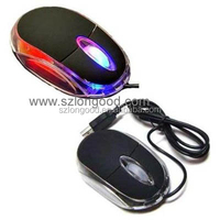Computer Accessory Cheap USB Wired Mouse for Laptop Desktop