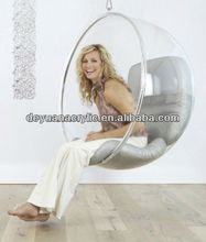 Custom/Transparent Acrylic Hanging Bubble Chair