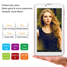 2015 7 inch MTK6572 Dual core 3G top tablets, cheap china smartphone mobile cellphone with Android 4.2