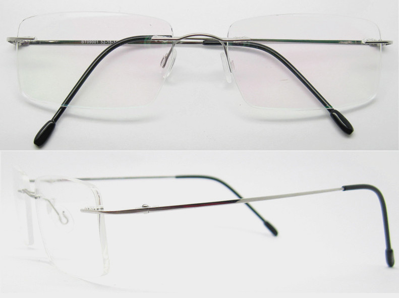 Rimless Eyeglass Frames 2015 : Wholesale 2015 rimless eyeglasses for men women de oculos ...