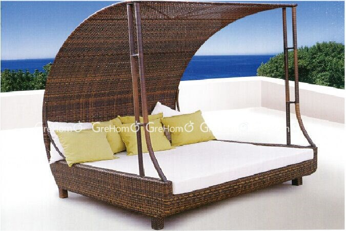 Patio Furniture Outdoor Bed Amateur Japanese Teens