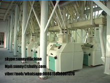 flour mill machinery/wheat flour machine price