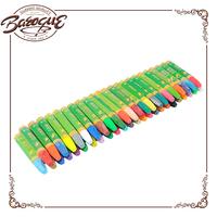 cheap wholesale artist oil pastel color pen 48 pcs, washable silky crayon wax bulk for kid set