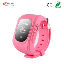 Fashion Type real time tracker gps watch for old people with SoS Button
