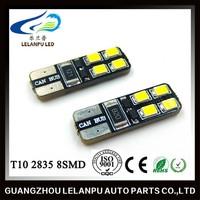 T10 2835 8SMD Canbus LED 12V Bulb Car Interior Led Light Furniture Head Light Led Light Bulb
