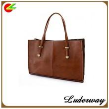 High fashion Vintage Solid Color and Metallic Design kinds of women handbag supplier