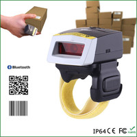 2D FS02 ring type Android Handheld QR image Barcode Scanner Smart data terminal