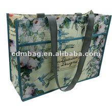 Cheap pp non woven shopper bag 2012