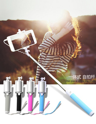 2015 New Arrival Waterproof Monopod Self-lock Telescoping Extendable Pole Selfie Stick For Go pro