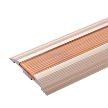 high quality aluminum flooring edge connetc trim profile,tile decorative trim