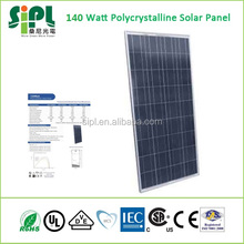 140 Watt Polycrystalline Solar Panel