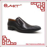 new design high quality brand name custom shoe manufacturers made formal nubuck leather flat shoes