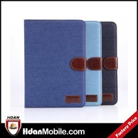 Fashion case for ipad mini 3,for ipad mini 3 elegant leather case,for ipad mini 3 jeans leather cover