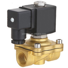 Finely operated 2W direct acting electromagnetic solenoid valve