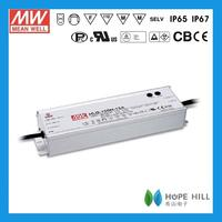 Genuine MEANWELL 150W Single Output LED Power Supply HLG-150H-48