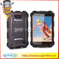 S933 7 inch single sim card quad-core Support waterproof Dropproof and shockproof industrial grade GPS cellular telephone