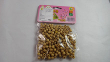 Natural Round Wooden Beads for wholesale for plastic arts and crafts bags