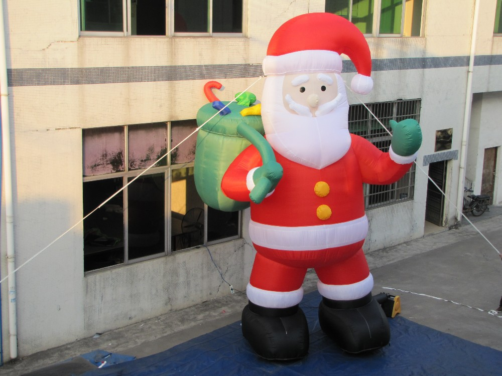 Ft christmas inflatable santa