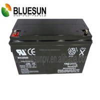 5 years warranty Bluesun 12V 120AH solar system lithium titanate battery