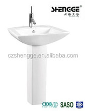Durable fast leadtime antique shape corner hand wash basin
