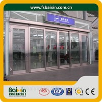Supply Automatic Modern Electric Sectional Single Leaf Sliding Door