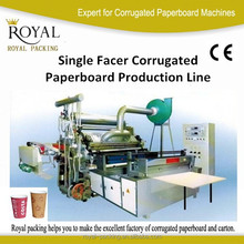 Single Facer Corrugated Paperboard Production Line --- Specially for Paper Cup Production Solution