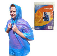 The untralight single-use promotional poncho,Rally disposable poncho