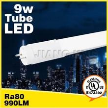 led tube aluminum profiles Milky&Transparent cover t8 led bulb low power consumption