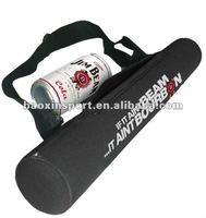 6pack neoprene can holder with shoulder strap