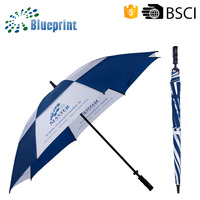 New customized gift items two-tier golf umbrella promotional 2015
