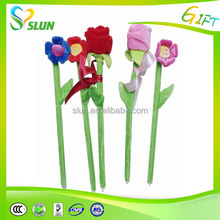 2015 cheap price fashion beautiful flower pens for sale