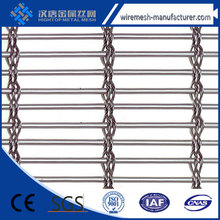 SS wall curtain decorative metal mesh, architectural decorative wire mesh