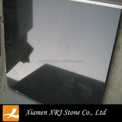 Tile slab of granite China Black factory price