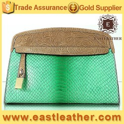 GL681 china suppliers hand bags trendy lady leather hobo snake bag real