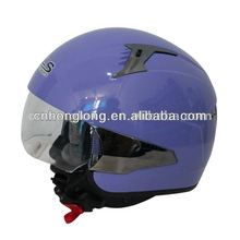 Adults open face motorcycle helmets with classical graphic(ECE&DOT Certification)